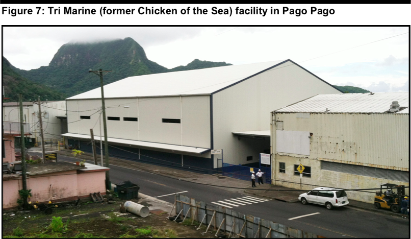 Tri Marine International cannery in American Samoa, 2013